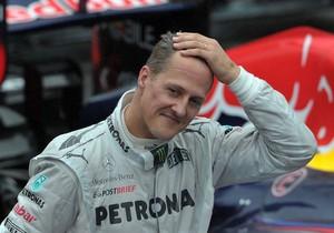 Schumacher, en una imatge de novembre del 2012.