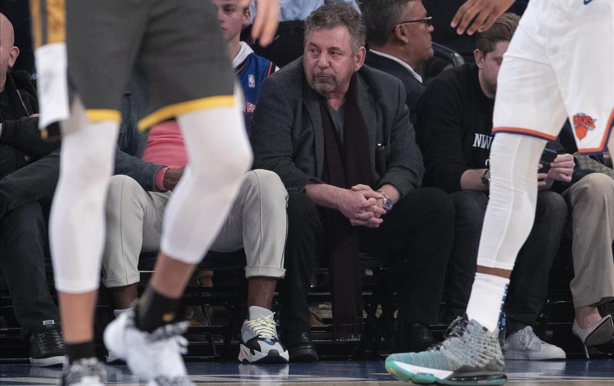 El propietario de los Knicks da positivo en las pruebas de coronavirus