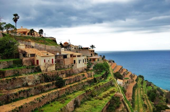 Fotografía de la Serra de Tramuntana, hecha porMaria Rosa Ferré, para el concurso Wiki Loves Earth.