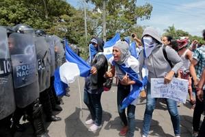 Siguen las protestas contra el presidente Daniel Ortega