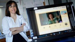 Blanca Fuentes Gimeno (Hospital La Paz de Madrid) va a usar las series de televisión contra la afasia.