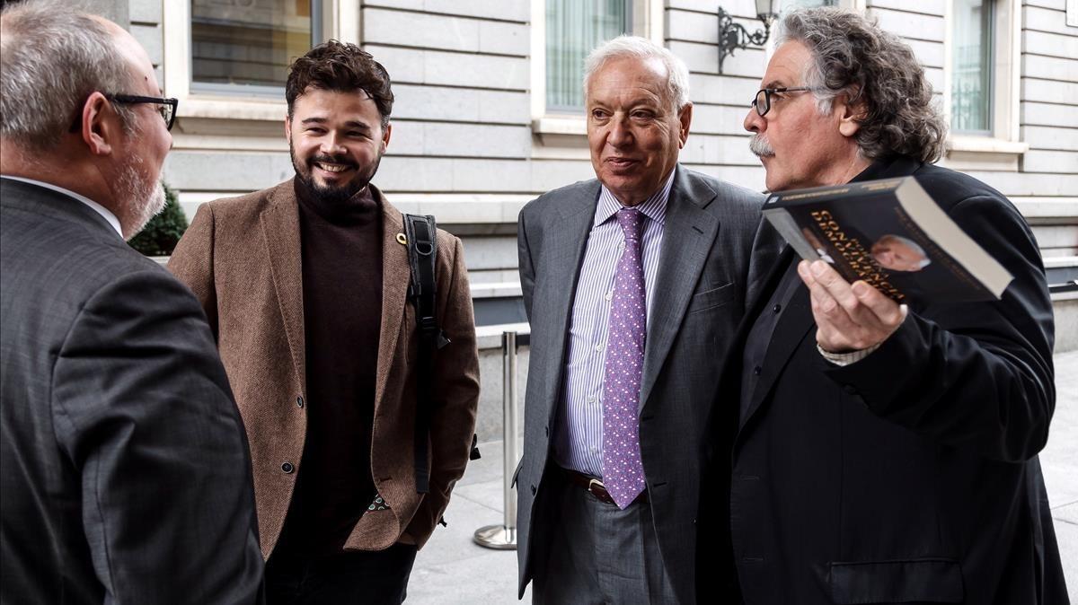La coincidencia de Margallo y Tardà: no habrá solución hasta que no se aborde Catalunya como un problema español