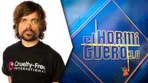 El actor estadounidense Peter Dinklage es el invitado de esta noche en el programa de Antena 3 El hormiguero.
