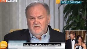 Thomas Markle, en la entrevista con Good Morning Britain.