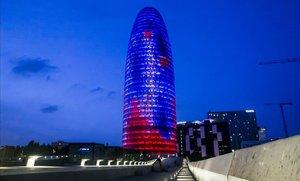 La Torre Glòries, en el 22@ de Barcelona.