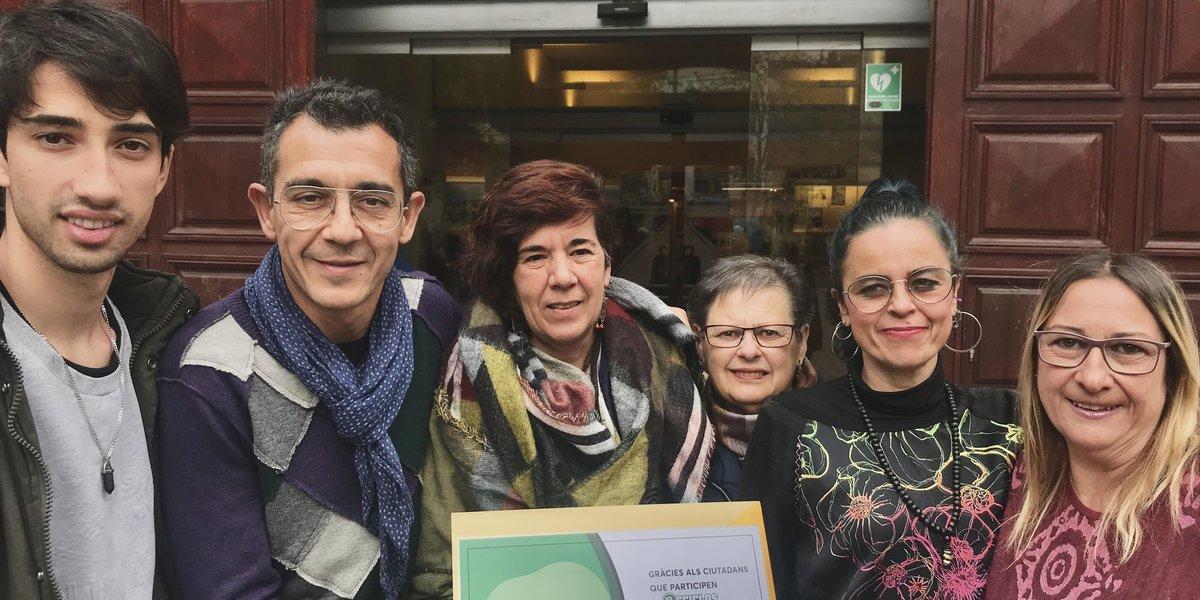 Usuarios del proyecto 'Reciclos' de Sant Boi de Llobregat.