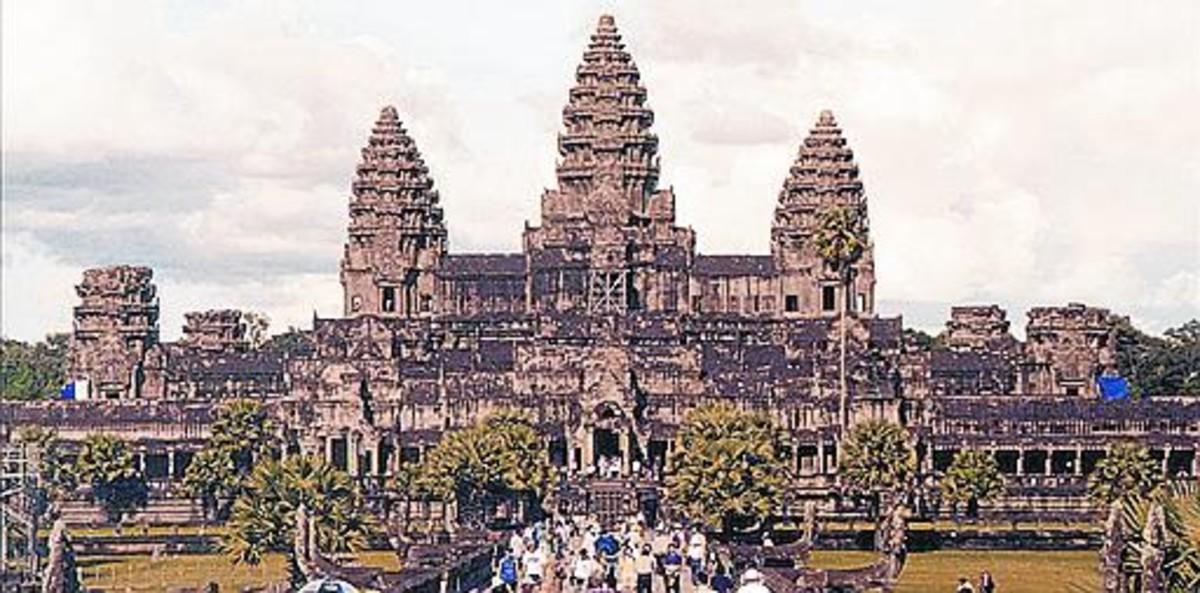 Los templos de Angkor Wat (Camboya).