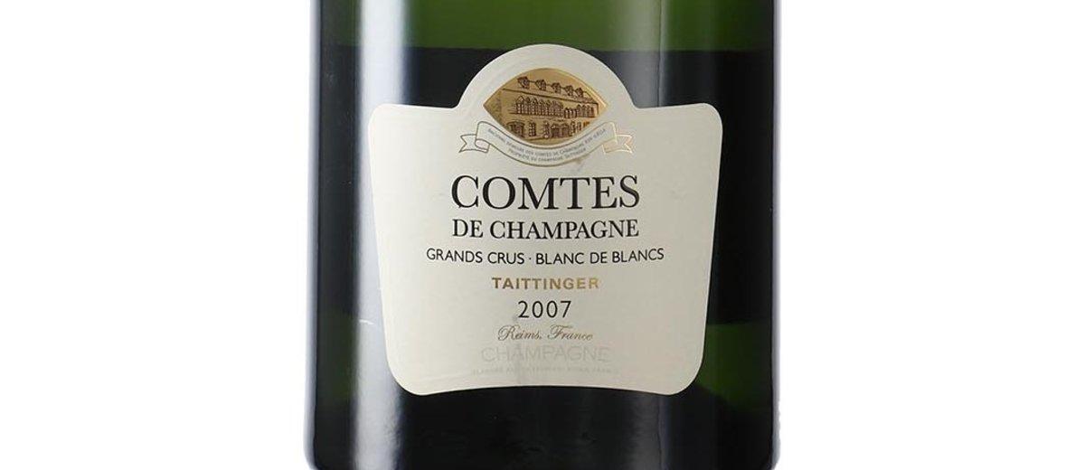 Vino Comtes de Champagne 2007.
