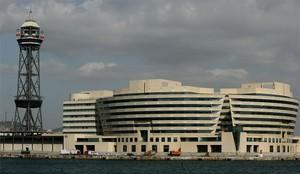 El World Trade Center de Barcelona, donde está el Eurostars Grand Marina.