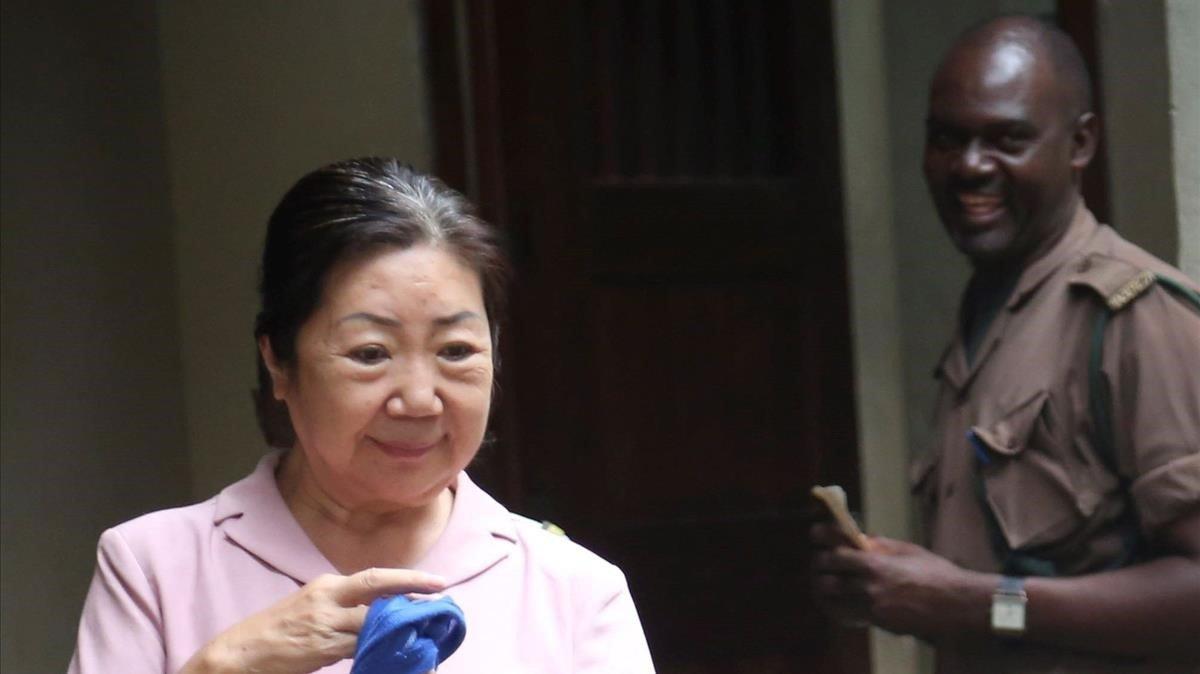 Yang Fenglan, conocidacomo la reina del marfil.