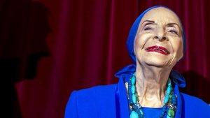 Alicia Alonso,directora del ballet nacional de Cuba.