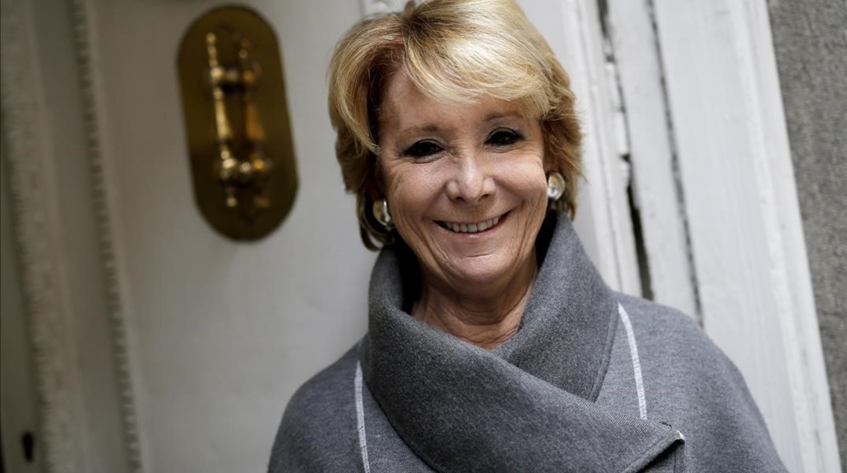 """Esperanza Aguirre: """"Em vaig retreure haver estat dos anys sense fer-me mamografies"""""""