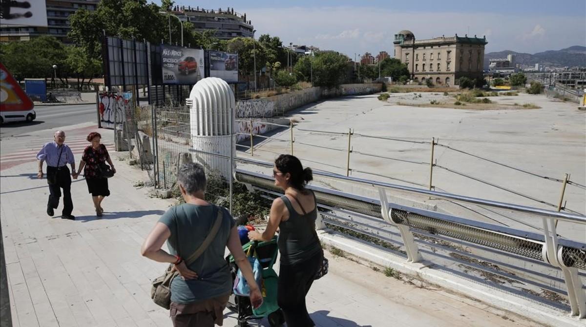 La zona zombi de Barcelona