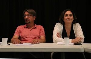 Els comuns de Colau avalen participar en el referèndum