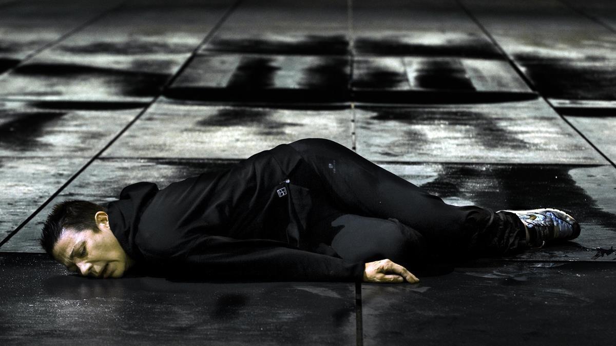 Emma Vilarasau en una escena de Medea.