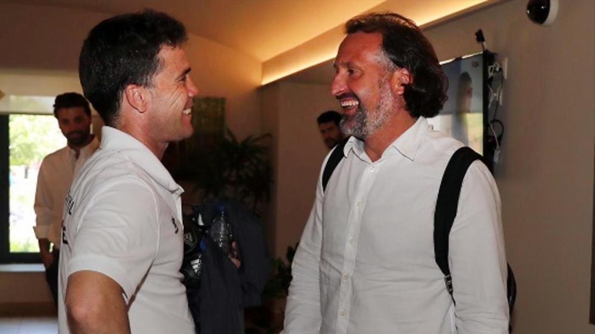 Rubi y Rufete preparan la cuenta atrás del Espanyol 2018-19.