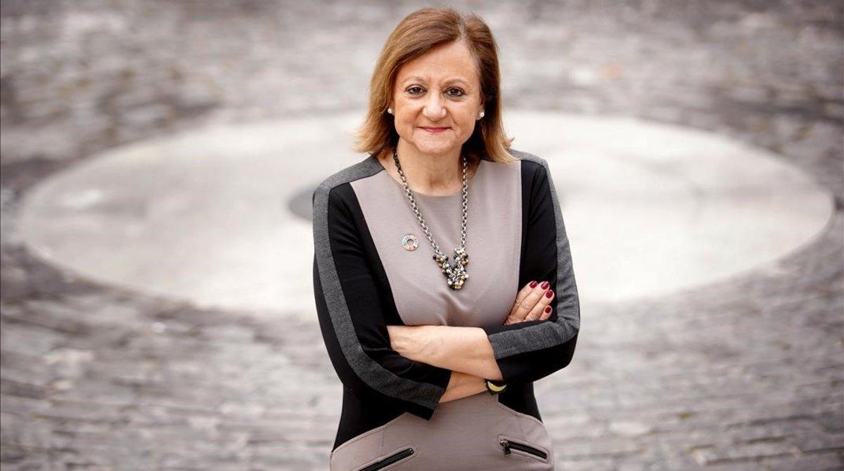"""Cristina Gallach: """"Los hombres se resisten a dejar el poder"""""""