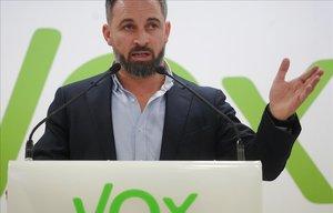 Abascal exigeix al PP i Cs asseure's a negociar perquè tinguin els seus vots