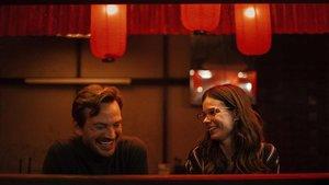 Guillermo Pfening y Laia Costa, en un momento de 'Foodie love'.