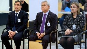 Qui és qui en el judici de Trapero: Cèsar Puig, Pere Soler i Teresa Laplana