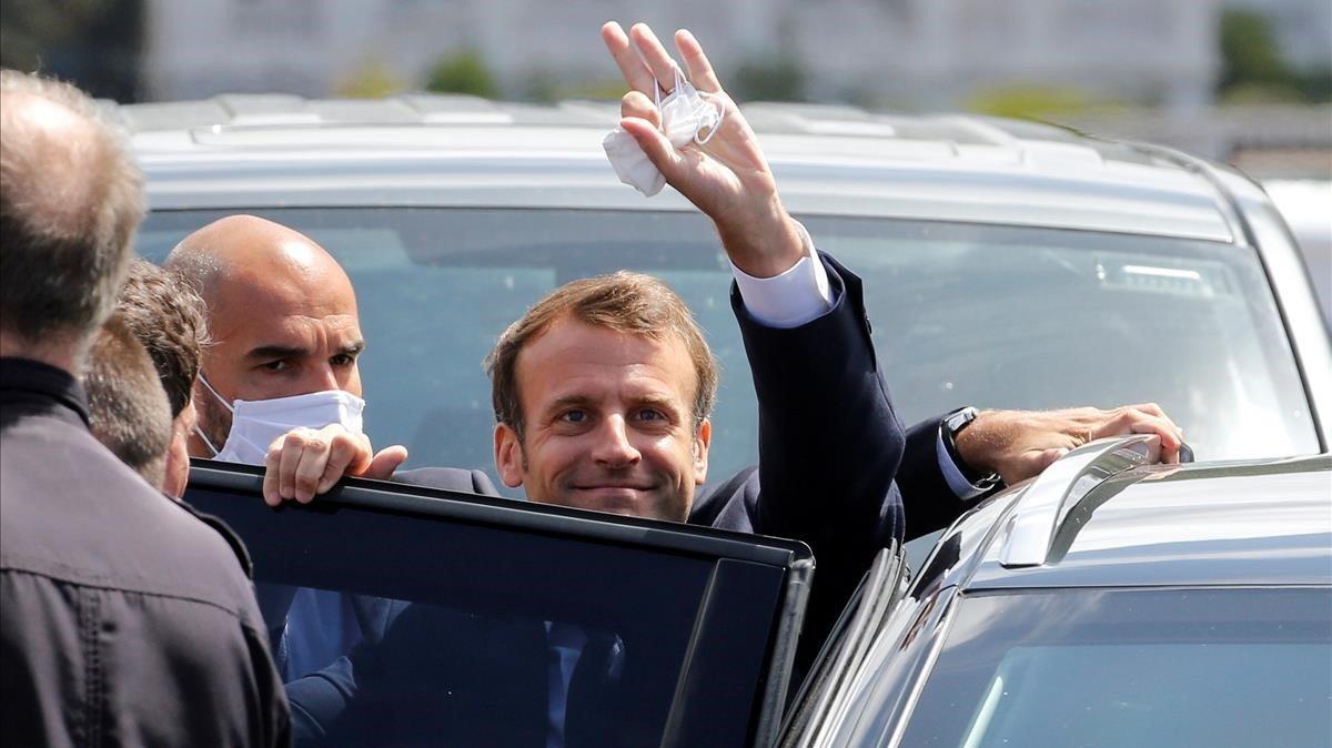 Ola verde contra Macron