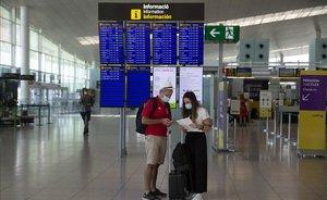 El Prat va registrar a l'agost el descens més pronunciat de passatgers de la xarxa d'Aena