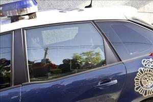 Un cotxe de la Policia Nacional, en una imatge darxiu