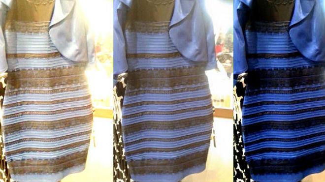El vestido de la discordia azul o blanco