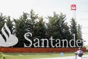 La sede central del Banco Santander, en la localidad madrileña de Boadilla del Monte.