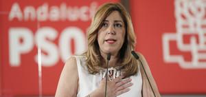 SUSANA DÍAZ EN COMITÉ DIRECTOR DEL PSOE-A