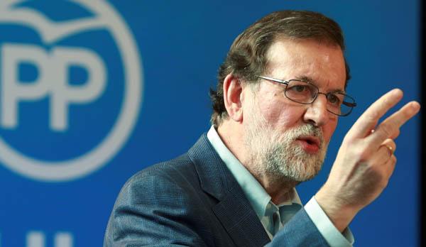 Rajoy en la clausura de la Convención Nacional sobre Familia y Conciliación que celebra hoy el PP en Zaragoza.