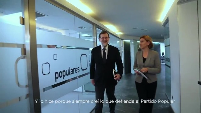 Rajoy se hace youtuber