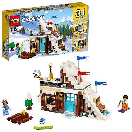 Refugio invierno Lego