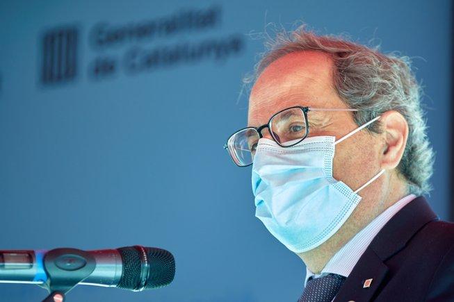 Torra anuncia un recurso de inconstitucionalidad contra el Gobierno por «quedarse» con el superávit de los ayuntamientos