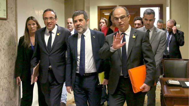 El Suprem torna a Batet la suspensió dels electes presos per les Corts