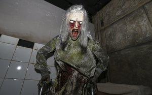 Uno de los terroríficos monstruos del Laberint de la Por.