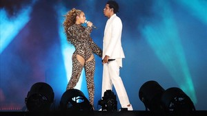 Actuación de Beyoncé y Jay Z en Copenhague, el 23 de junio