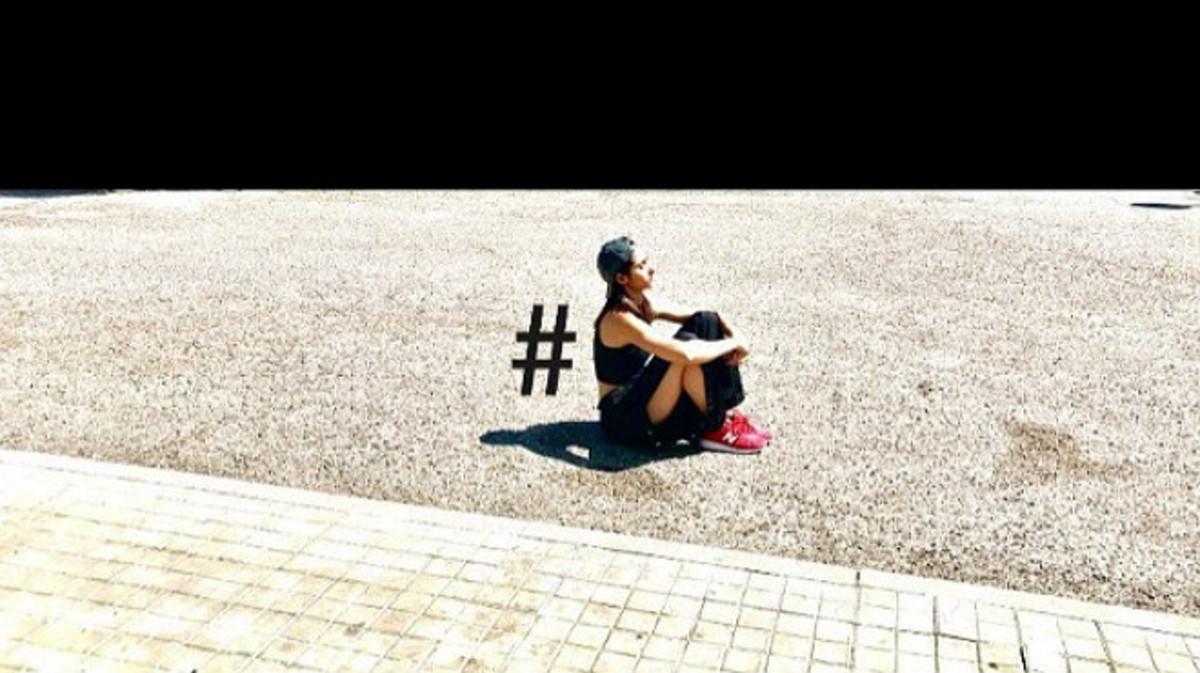 Imagen compartida por la actriz Alba Flores en su cuenta de Instagram.