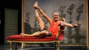 Albert Hurtado, protagonista de la nueva obra de la premio nacional de danza Marta Carrasco.