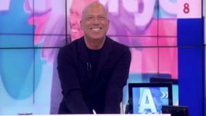 Alfonso Arús en el último programa de Arucitys en 8TV
