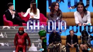 Algunos de los momentazos del estreno de GH DÚO.