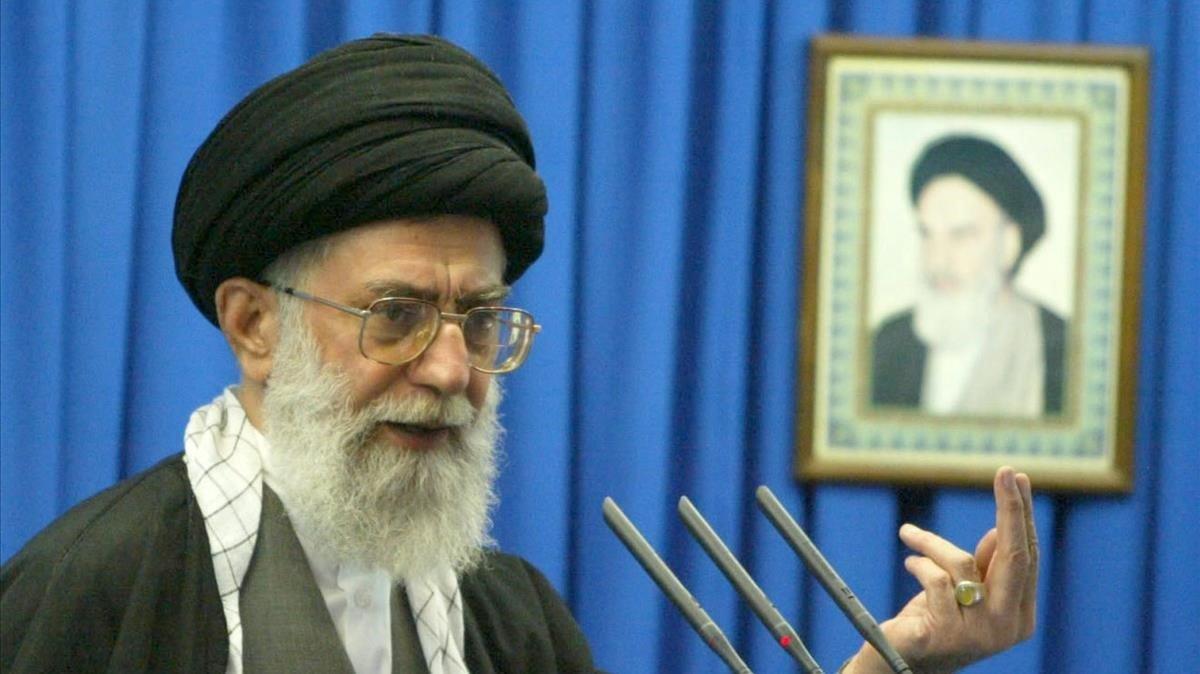El guía supremo de Irán, Alí Jamenei.