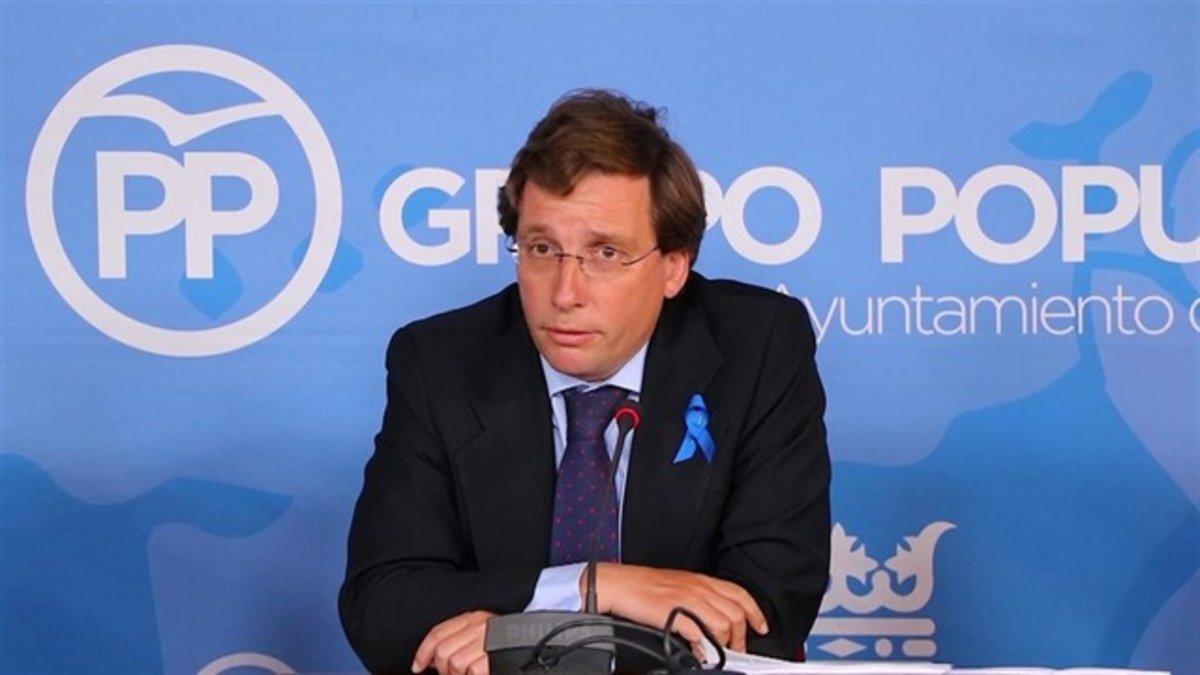 El candidato el PP a la Alcaldía de Madrid, José Luis Martínez-Almeida.