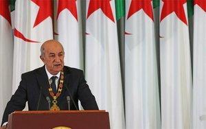 El presidente de Argelia,Abdelmadjid Tebboun.