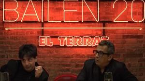 Juan Carlos Ortega y Andreu Buenafuente, en un momento de Bailén 20.