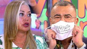 """Pique entre Jorge Javier y Belén Esteban por los toros: """"No quiero pelear contigo"""""""