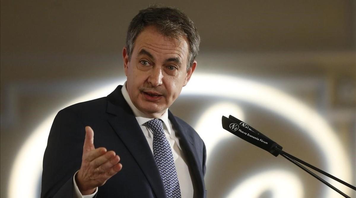 Zapatero advoca per un diàleg amb Catalunya en què es plantegin «totes les alternatives»