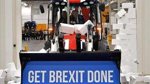 Boris Johnsony su promesa electoral: Hagamos realidad el 'brexit'.