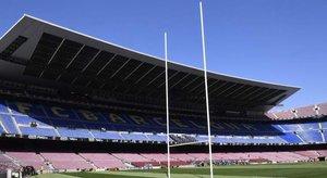 El Camp Nou ya está listo para recibir a los Dragons Catalans.(Getty)