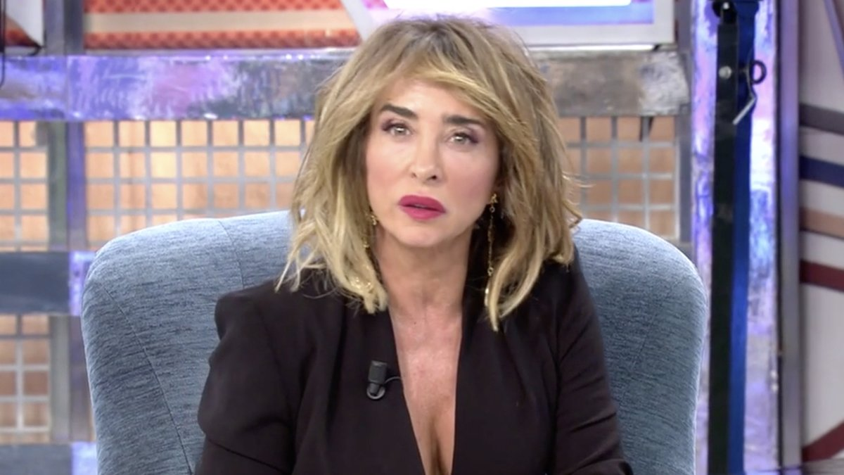 María Patiño en 'Sábado Deluxe'. /MEDIASET